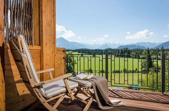 Sonnenalp Resort: Ausblick Südlage Zimmer