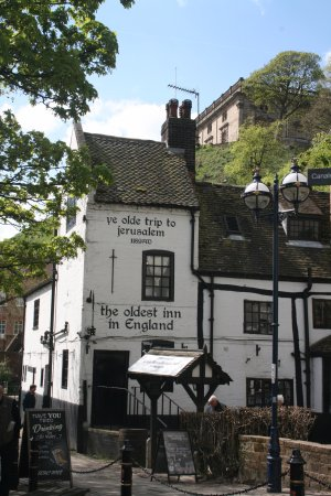 The oldest Inn in England - Picture of Ye Olde Trip to