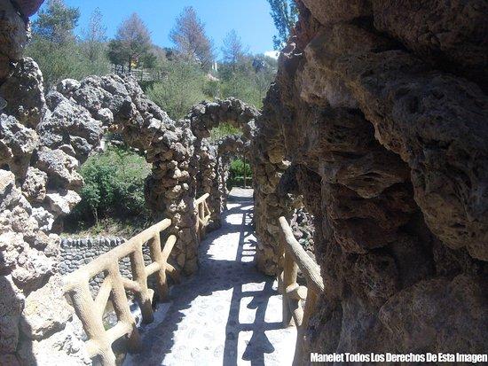 La Pobla de Lillet, Spania: Jardins