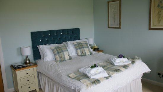Fionnphort, UK: Schlafzimmer mit viel Liebe zum Detail