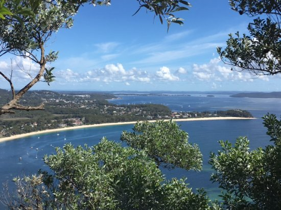 Shoal Bay, Australia: Worth the climb for the view