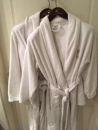 Hotel Grodek: Complimentary robes
