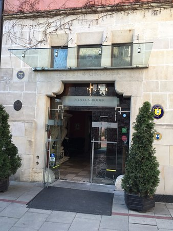 Hotel Grodek: Entrance