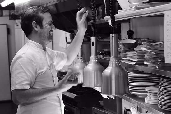 The Elderflower Lymington: One happy Chef