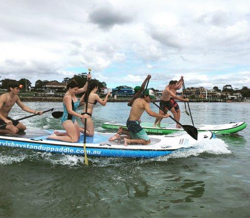 Huskisson, Australia: Jervis Bay Stand up paddle ...
