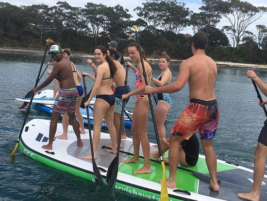 Хаскиссон, Австралия: Jervis Bay Stand up paddle adventures