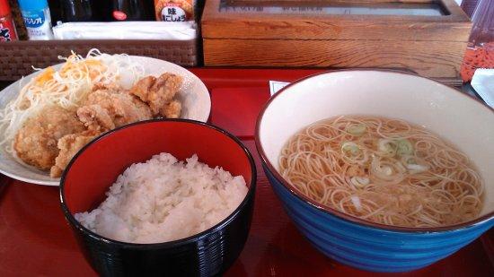 Sakai, Japan: Karaage Set Meal