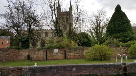 The Lock Stock & Barrel: The lovely Noramn church across the waters