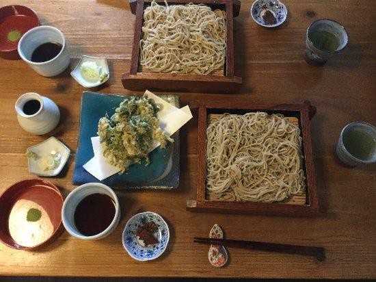 Okutama-machi, Japón: せいろ こごみの天ぷら
