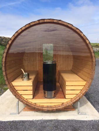Lahinch, Irlanda: The sauna