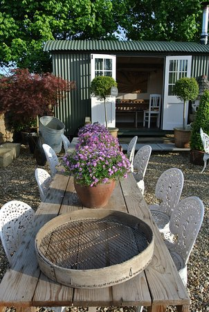 Lutterworth, UK: the club hut available for private booking