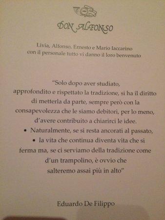 Ristorante Don Alfonso 1890