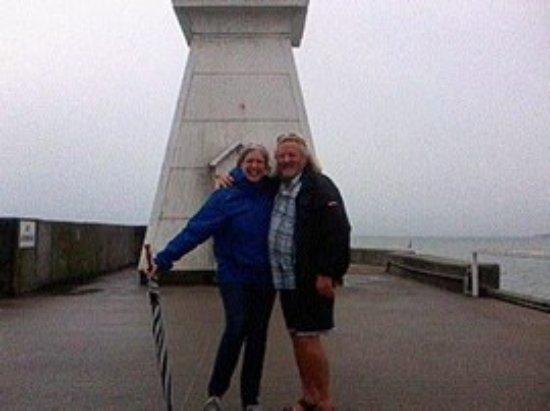 Port Dover, Canada: Even when it's rainy it's pretty!