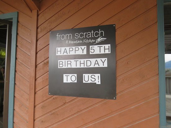 Fairmont Hot Springs, Canada: Happy Birthday to you!
