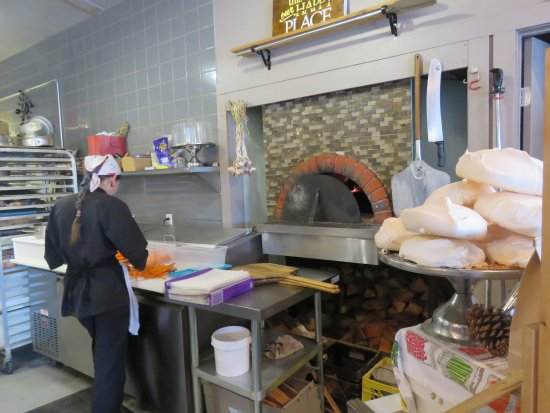 Fairmont Hot Springs, Canada: The oven, wow!