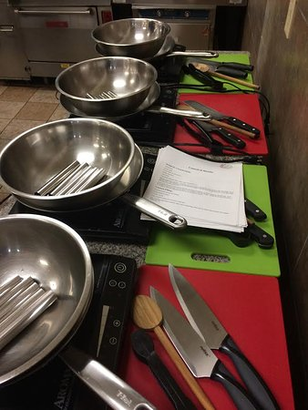Cooking Classes available, check on-line for dates and times.