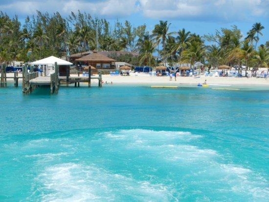 Blue Lagoon Island Nau Bahamas Foto De