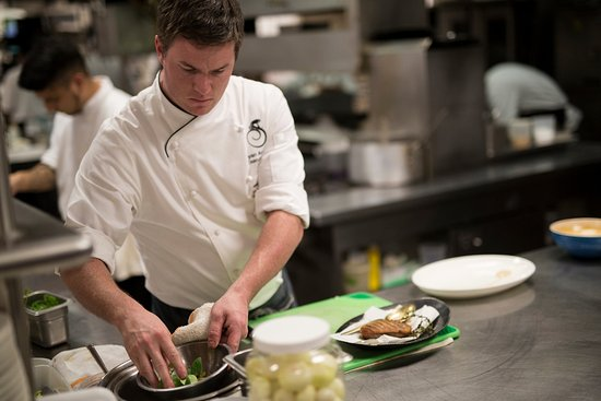Middleburg, VA: Chef Ryan in the kitchen