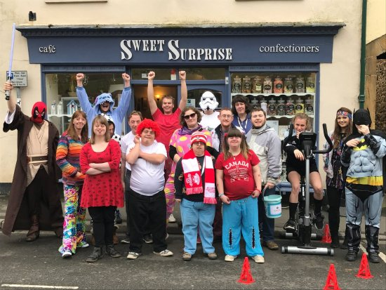 Ilminster, UK: The students of Sweet Surprise