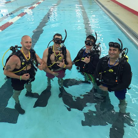 Fanwood, NJ: Confined water training