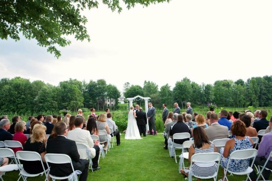 Macedon, NY: Wedding at Blue Heron