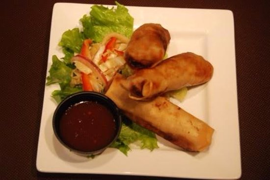 Dowell, MD: Duck Spring Rolls