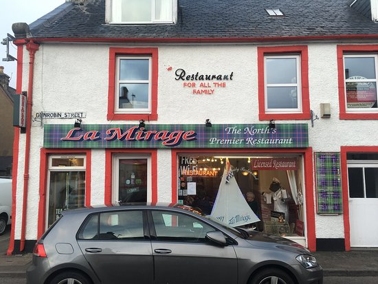 Helmsdale, UK: La Mirage - FANTASTIC FOOD
