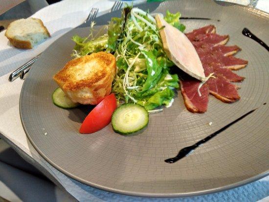 Wettolsheim, France: Foie gras with magret du canard