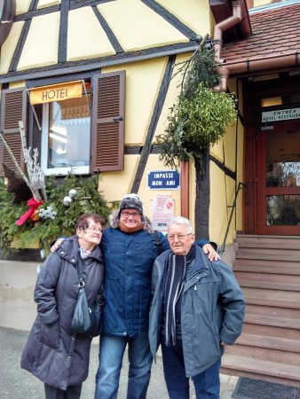 Wettolsheim, Francia: With the parents