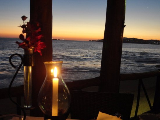 """The """"every night"""" amazing seating view at Toscana"""