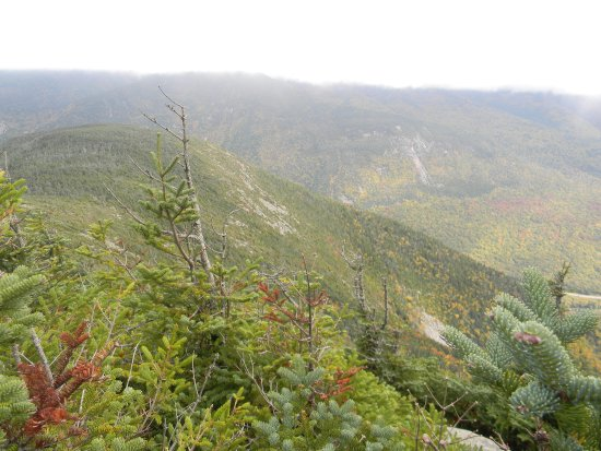 Franconia, Nueva Hampshire: The view from atop!