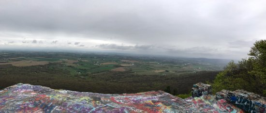 Super 8 Thurmont: View from High Rock no hiking required