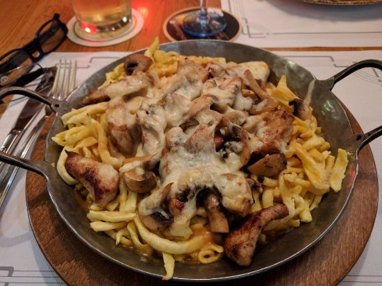 Offenburg, Alemania: Spaetzle