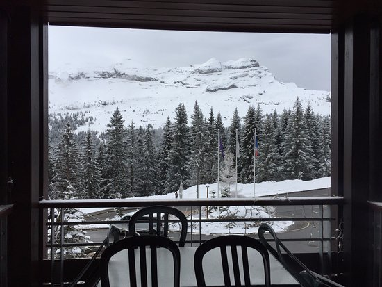 Flaine, Francia: The view