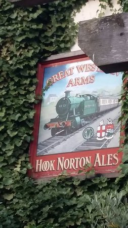 Aynho, UK: Once upon a time there was a station