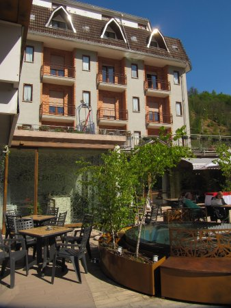 Lurisia, Italien: vista hotel & ristorante