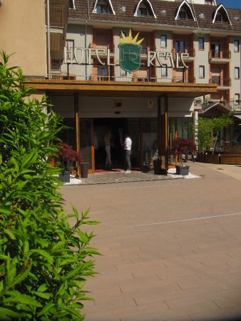 Lurisia, Italien: ingresso hotel & ristorante