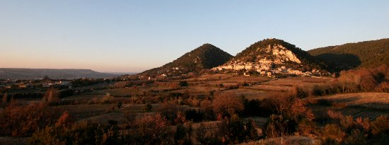 Domaine de Mourchon : Séguret, classé parmi les plus beaux villages de France