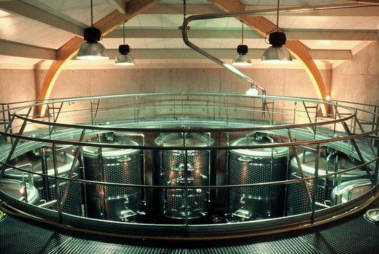 Domaine de Mourchon : Une cave très moderne - A modern winery