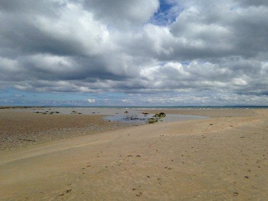 Killala, Ireland: Low tide in Ross