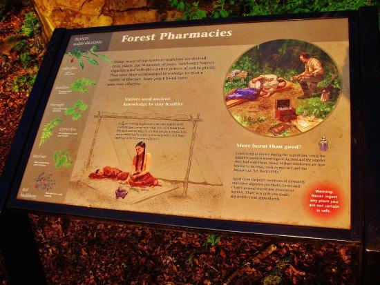 Corbett, Όρεγκον: Forest Pharmacies Plaque