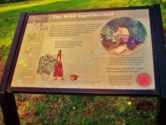 Corbett, Όρεγκον: The Wild Supermarket plaque