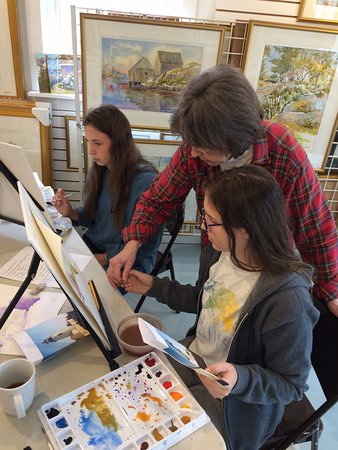 Jan Kilburn Watercolor Studio and Gallery: Art Class 02