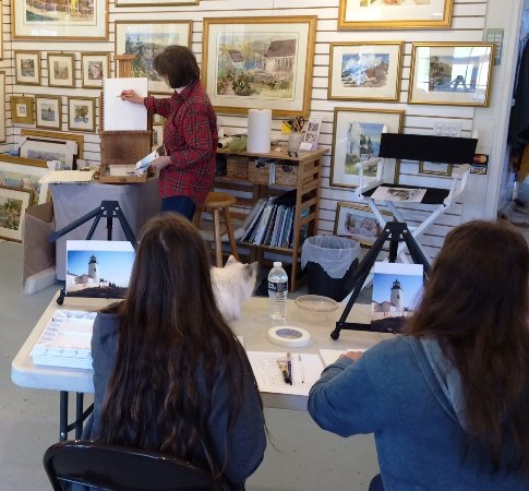 Jan Kilburn Watercolor Studio and Gallery: Art Class 01
