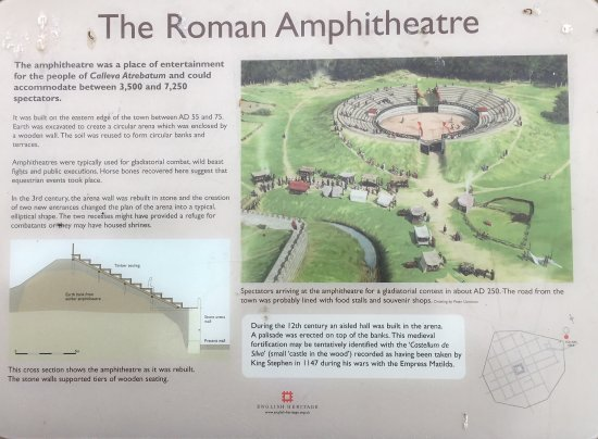 Silchester Roman City Walls and Amphitheatre: photo2.jpg
