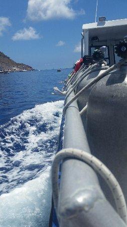 Windwardside, Saba: heading back