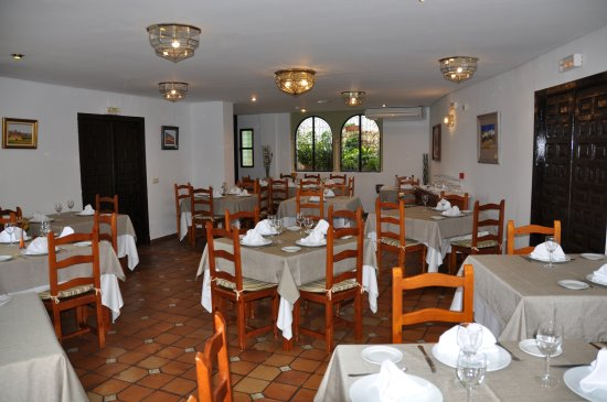 Zuheros, Spain: Vista del Restaurante 1