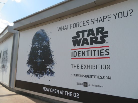 Star Wars Identities - Picture of STAR WARS Identities at The O2