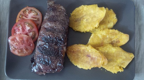 Petionville, Haiti: NY STRIP sir loin