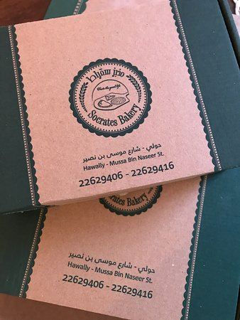 Hawalli, Kuwait: takeaway packaging